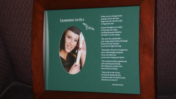 Another Graduation Poem: Learning to Fly