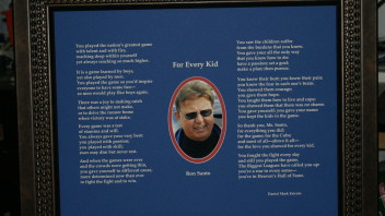 Ron Santo: Hall of Famer, Finally!