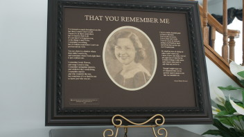 That You Remember Me: An Alzheimer's Poem