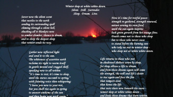 Winter Deep at White White Dawn: A Poem to Celebrate Snow