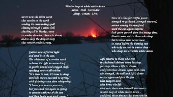 Winter Deep at White White Dawn: A Poem to Celebrate Snow