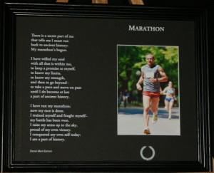 Marathon Marathon 10x8 Black with Black Frame