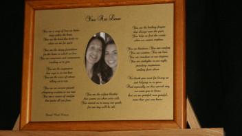 You Are Love: For Moms  10×8 Matte Framed