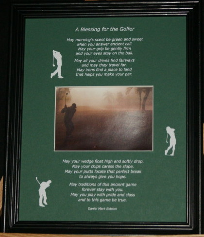 A Blessing for the Golfer