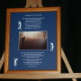A Blessing for the Golfer 8x10 Portrait LtBrownFrame/BlueMatte