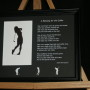 A Blessing for the Golfer 10x8 Lndscp BlackFrame/BlackMatte