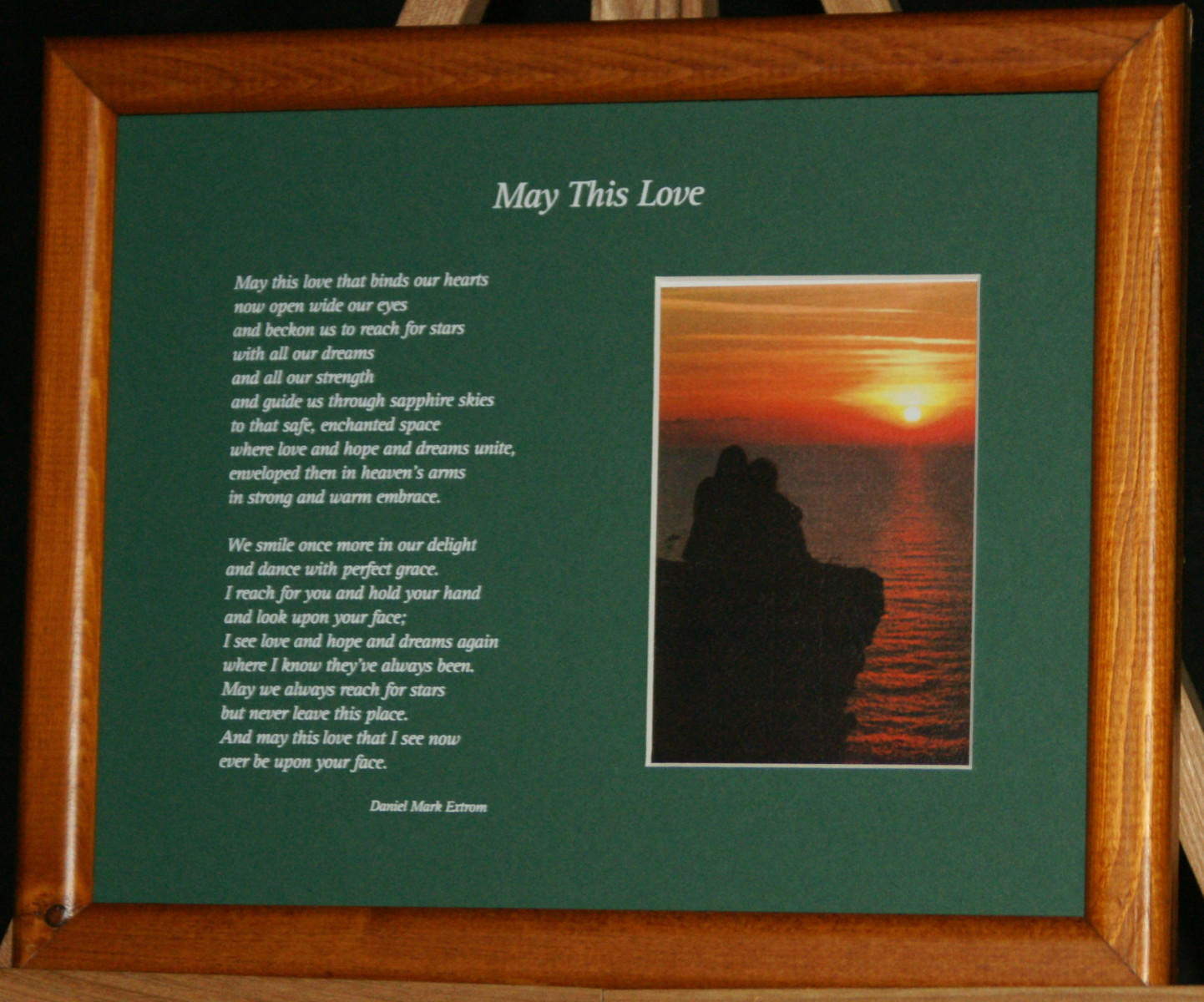 May This Love: A Love Poem, in Green
