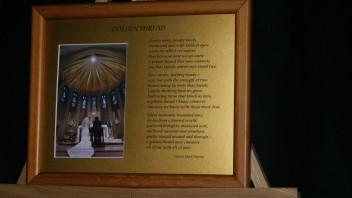Golden Thread: A Wedding Poem     10×8 Print