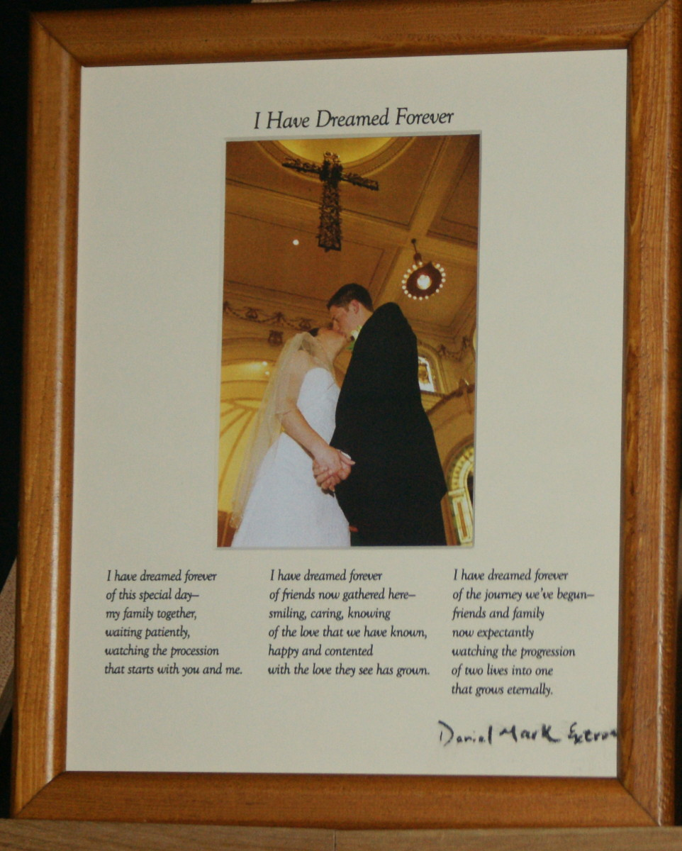 I Have Dreamed Forever: Cream Matte/Light Brown Frame