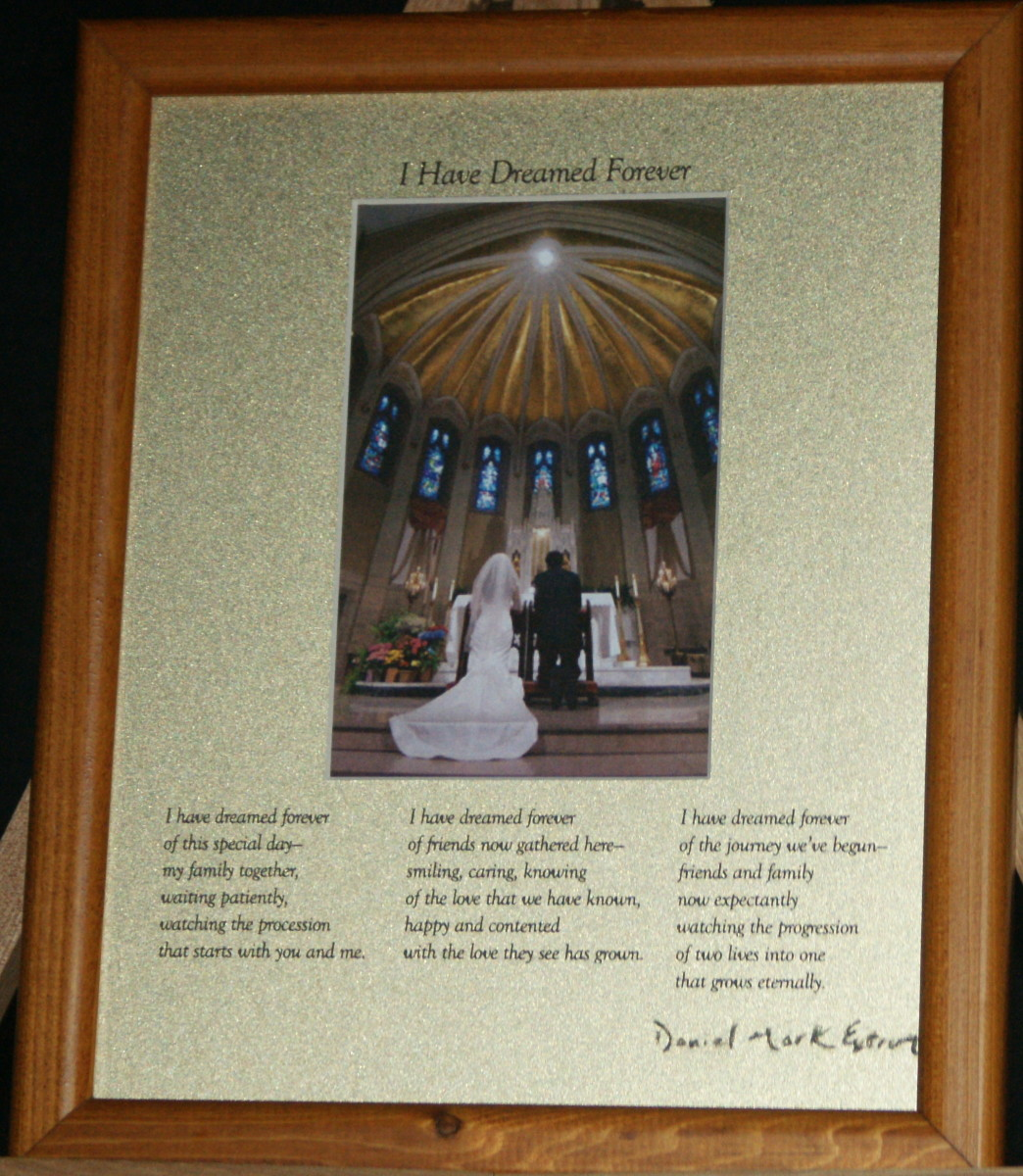 I Have Dreamed Forever: A Wedding Poem