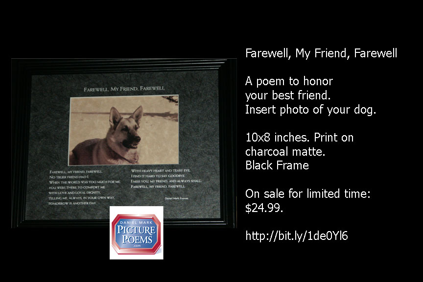 10x8 inches Black Frame
