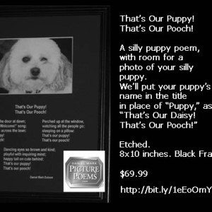 A silly puppy poem