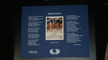 Marathon: For the Marathon Runner  Print-on-Matte (20×16 and 10×8)