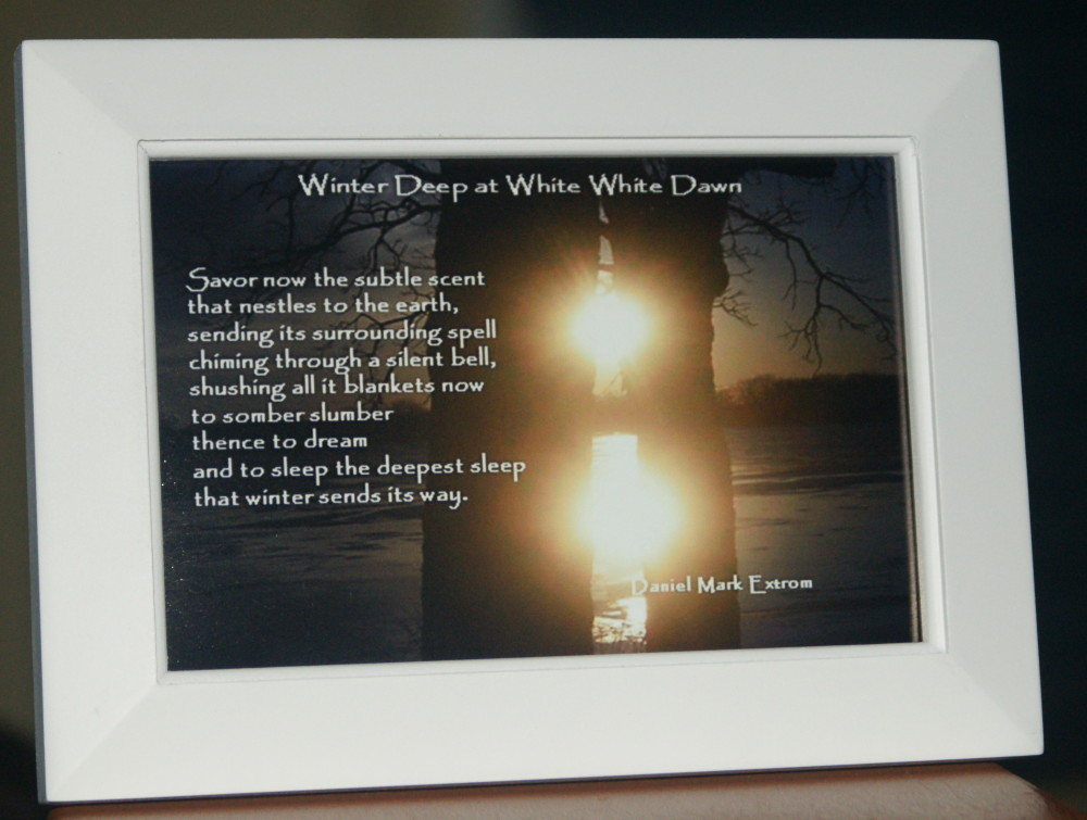 Winter Deep V3 Savor White Frame 6x4