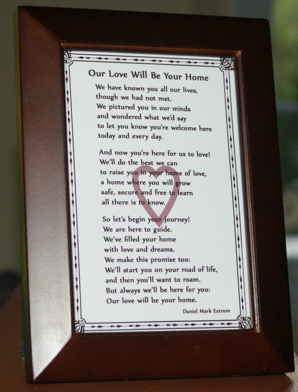 Our Love Will Be Your Home: A Photo Poem to Welcome a New ...