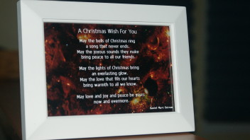 A Christmas Wish For You:  A Photo Poem  6×4 inches