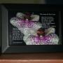 Loves of Our Lives V3 Black Frame 6x4 Orchids Children