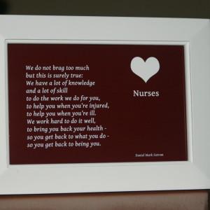 Honor your favorite nurse.