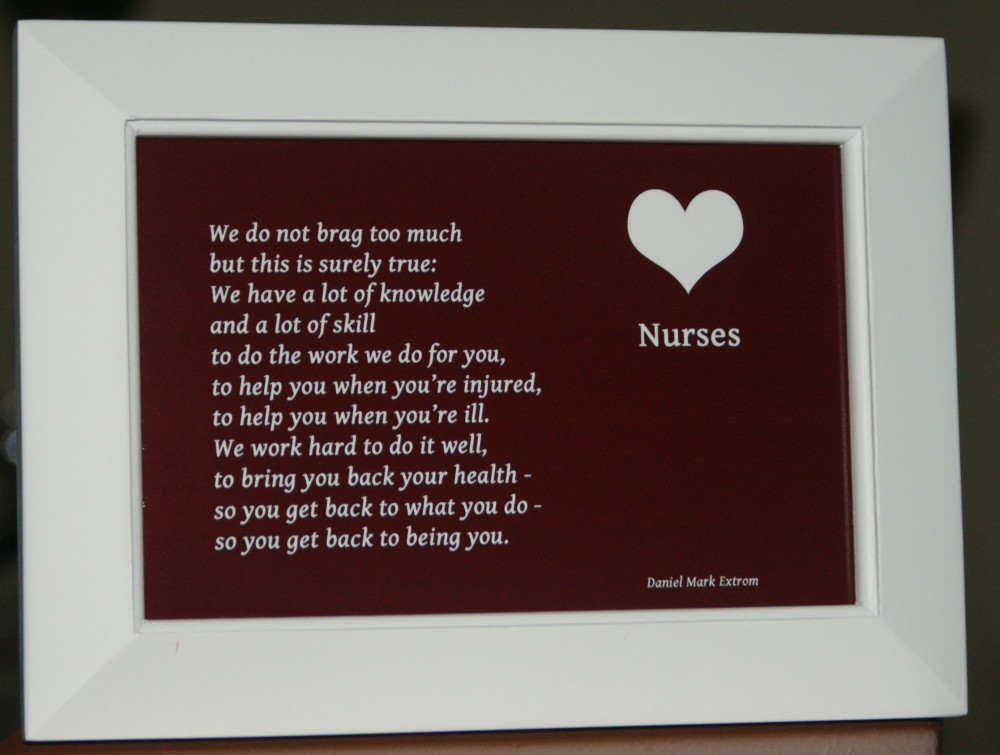 Honor your favorite nurse.