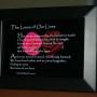 Loves of Our Lives V2 Black Frame 6x4 Roses
