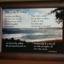 Does It Take A Miracle? Brown Frame 7x5 inches Ocean