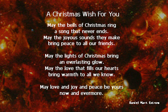 A Christmas Wish For You