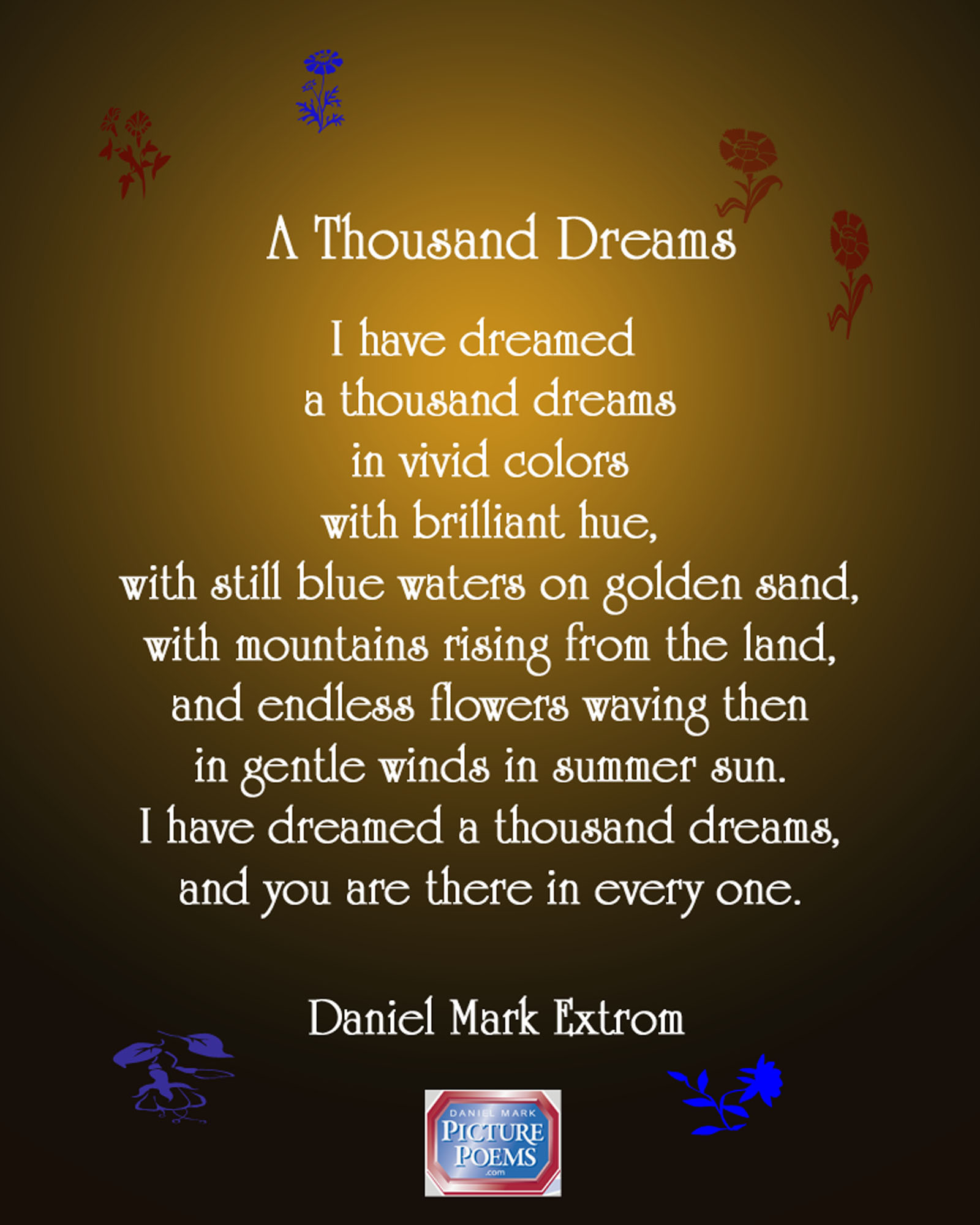 A Thousand Dreams For Valentines Day Daniel Mark