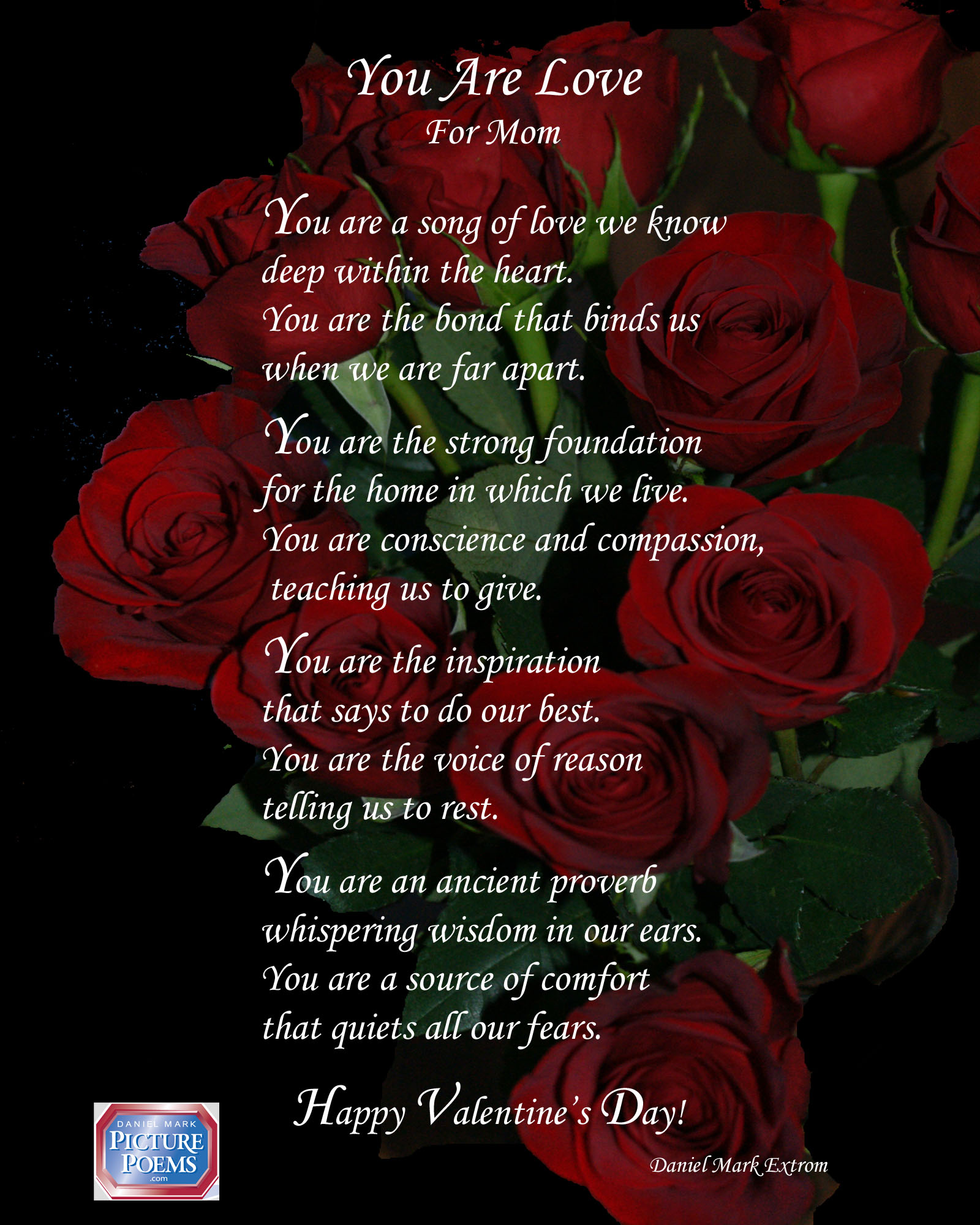 Another Valentine S Day Poem For The Moms In Your Life Daniel Mark