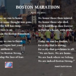 The Boston Marathon: Boston Strong