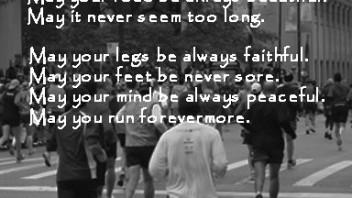 The Boston Marathon. Monday, April 21. Strong! Really Strong!