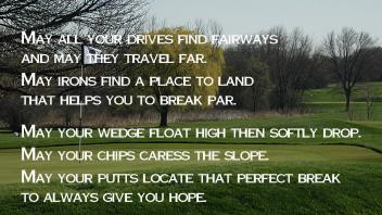 It's Golf Season!