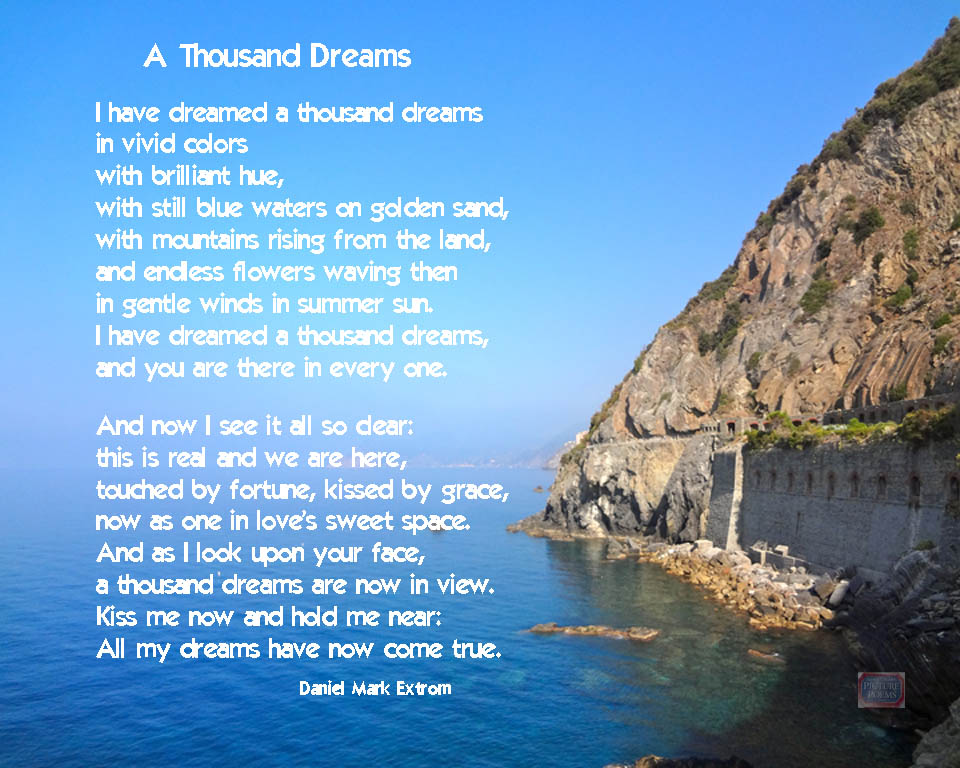 Poems For Children To Read At Weddings: Weddings! A Thousand Dreams : Daniel Mark Picture Poems
